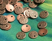 Antique copper drop 7mm, 30 pcs (item ID F1966FY)