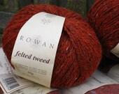 8 Balls of Rowan Felted Tweed - Ginger (154)