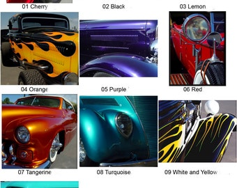 Wheels - Set of 10 Notecards - 10 Images
