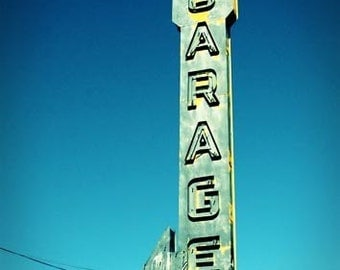 Garage - 11x14 Fine Art Photographic Print