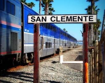 San Clemente Surfliner - 11x14 Fine Art Photographic Print