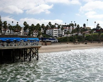 San Clemente from the Pier - 11x14 Fine Art Photographic Print