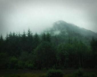 Highland Mist - 8x10 Fine Art Photographic Print - Signed by Artist