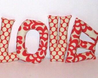 Stuffed Love Letters for Children