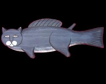 Cats, Black Catfish - 3 ft.