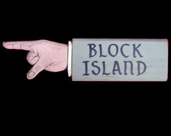 Block Island Pointing Hand