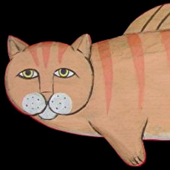 Cats, Orange Tabby Catfish - 3 ft.