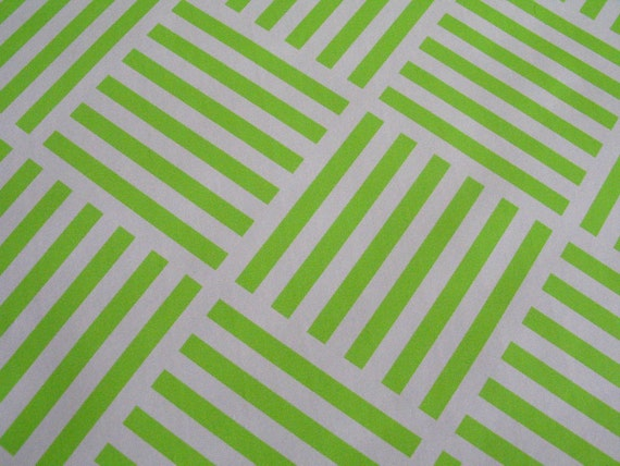 RESERVED for ALAFAY-Bright Neon Green Geometric Pattern Contact Paper