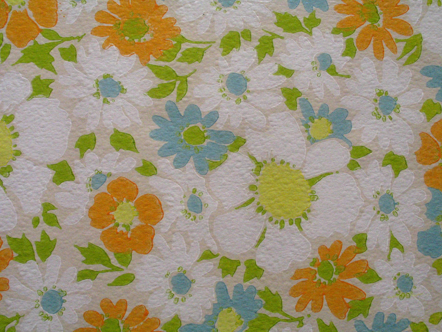 Daisy pattern wallpaper - photo#51