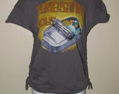 BEASTIE BOYS Hello Nasty shredded t shirt --  size SMALL, S