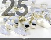 GENUINE Aanraku Bails 25 Small Silver Plated Bails. Genuine Aanraku.