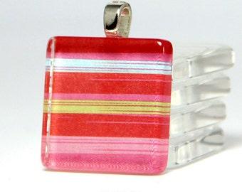 If You Like Scrabble Pendants ... 6 Square Glass Pendant DIY Kit. DIY kit with supplies.