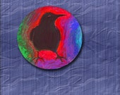 Dream Circle Pin Crow