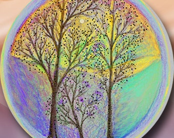 Dream Circle Pin-Harmony Trees