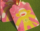 Sock Monkey - Any Occasion Gift Tags