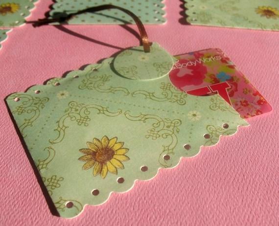 Sunflower - Gift Card Sleeve Set
