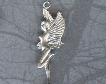 Sylph Pendant Sterling Fairy Jewelry Fae Faery Sidhe