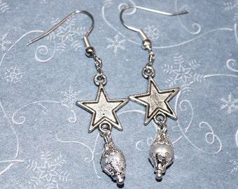 Shining Star Handcrafted  Pearl Earrings CeleEr01