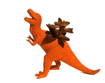 Unique Gift Dinosaur Planter TREX Great Dorm Office Home Decor Gift for Get Well  Boss' Teachers