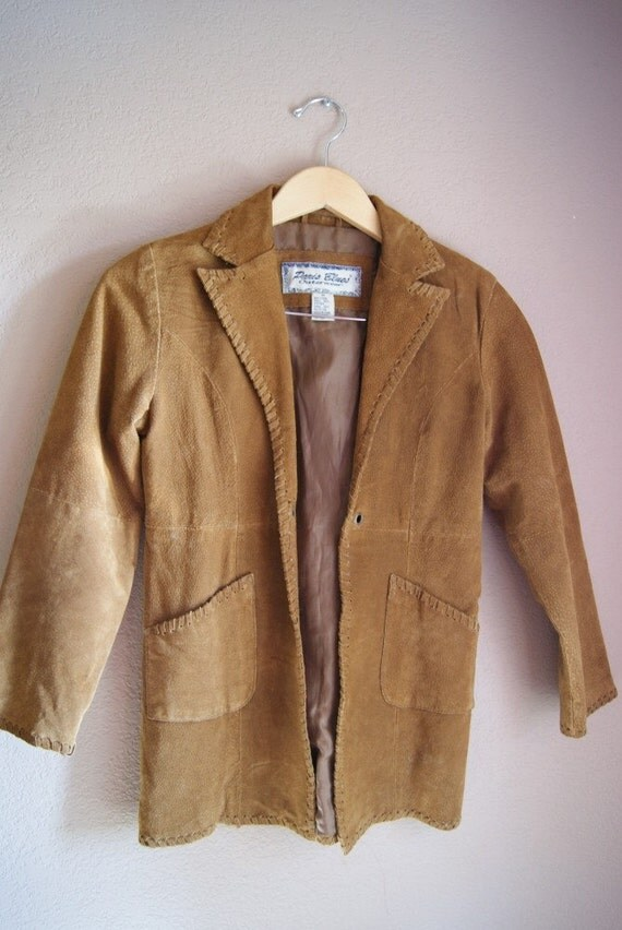 Vintage Suede Jacket Professional Bohemian
