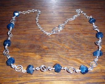 Yin Yang Apatite Necklace