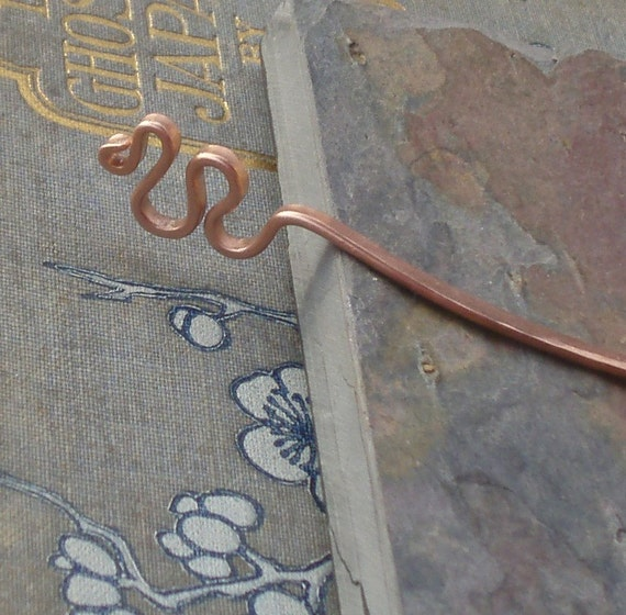 Forged Copper Bookmark