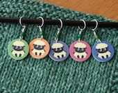 SET Sheep Stitch Markers
