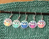 SET Fun Owl Stitch Markers