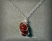 Cyprus beach stone pendant