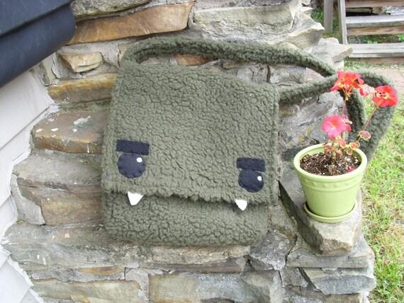 Grrr..Monster Messenger\/Laptop Bag