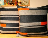 Nautical Denim Pillow - Reserved for Rachel