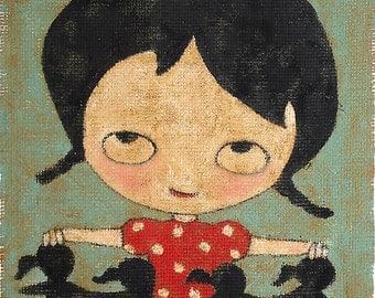 Tiny Girls - Print