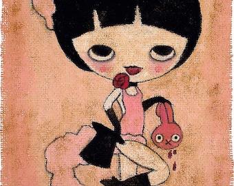 Lapin Burlesque - print