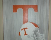 Handpainted Football Team Canvas