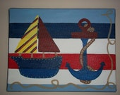 Nautical Wall art WAS 23.99