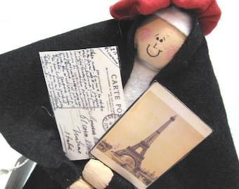 Nun doll Catholic gift -Sister Gaye Paree