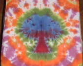 Super Funky Mushroom Tree Tie Dye Bandana