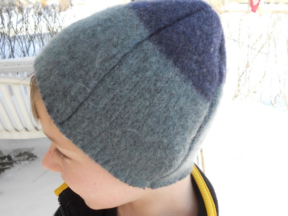 SALE Eco-Friendly Soft & Warm Kids Hat Recycled Wool Sweater