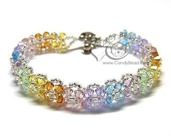 Sweet Floral with Sweet Colors Bracelet