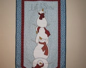Let it Snow Wall or Door Banner Pattern