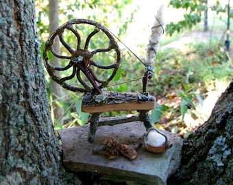 Fae Spinning Wheel and Accessories Custom Order
