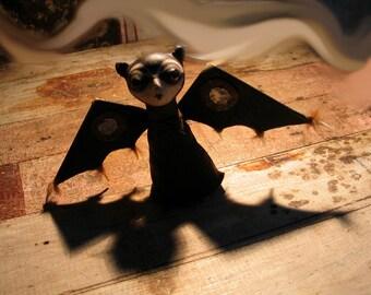 Custom Order Not Your Everyday Fae-- Little Bat Pixie Shapeshifter