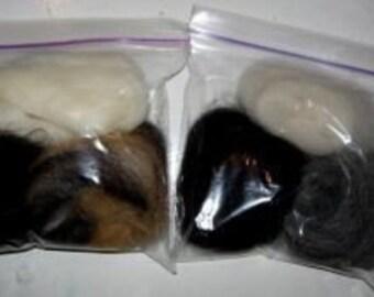 Assorted Alpaca fiber\/ 1 ounce