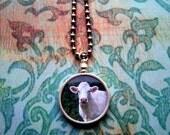 Cinci the Cow pendant necklace - proceeds go to Farm Sanctuary