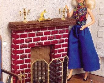 Fashion Doll - Warm Hearth -  plastic canvas pattern