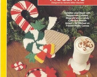 Candyland Accents  ~ plastic canvas leaflet
