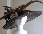 Kentucky Derby Hat, Award Winning Design in Leopard