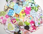Designer Scrap Heaven Grab Bag - Hundreds of designer fabrics - great for your little projects