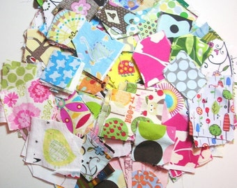 Designer Scrap Heaven Grab Bag - Hundreds of designer fabrics - great for your little projects