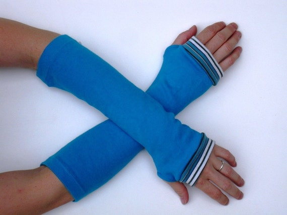 Arm Warmers Turquoise